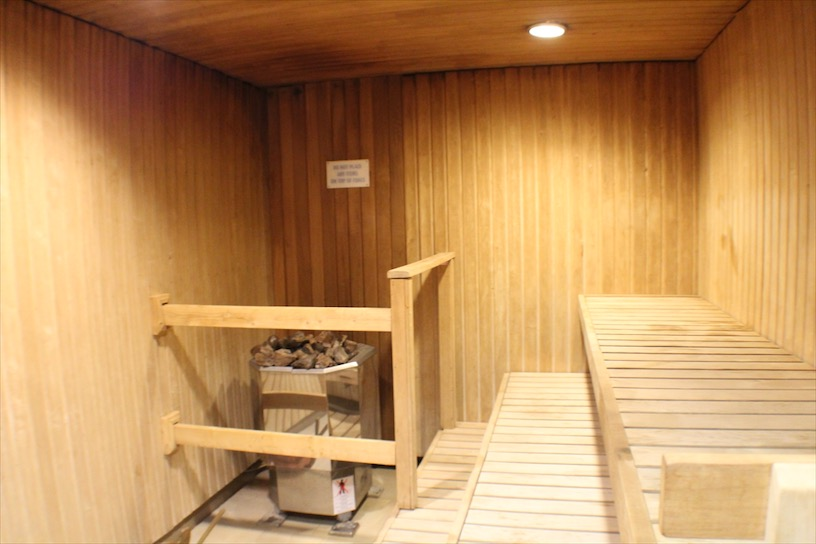 The Ladies Sauna on the Carnival Ecstasy