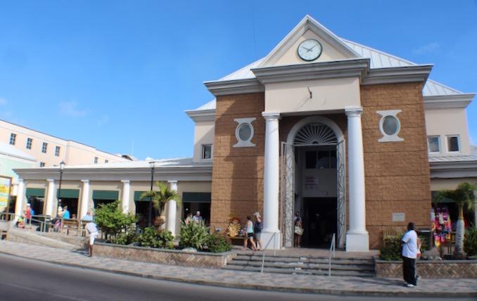 The Straw Market in Nassau, Bahamas