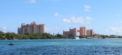 The Atlantis Resort in Nassau, Bahamas