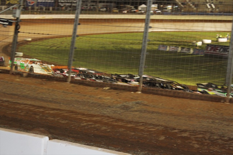 Racing at The Dirt Track at Charlotte