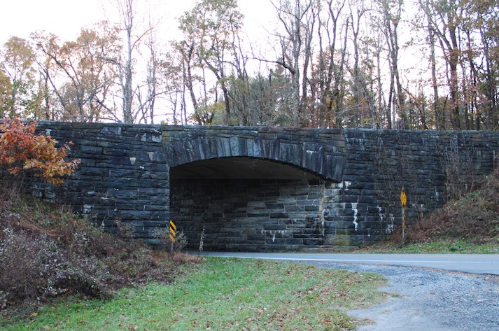 Stone Bridge along the Blue Ridge Parkway