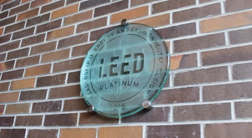 LEED Plaque at Sierra Nevada Brewery