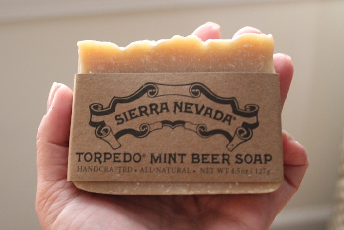 Beer Soap at the Sierra Nevada Brewery
