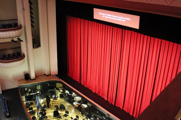 The Belk Theater in the Blumenthal Performing Arts Center